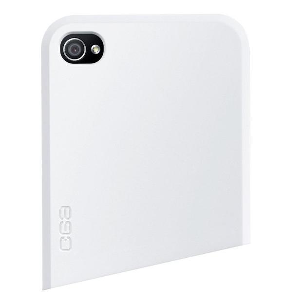Ego Series iPhone 4 Schutzhülle Oben weiss