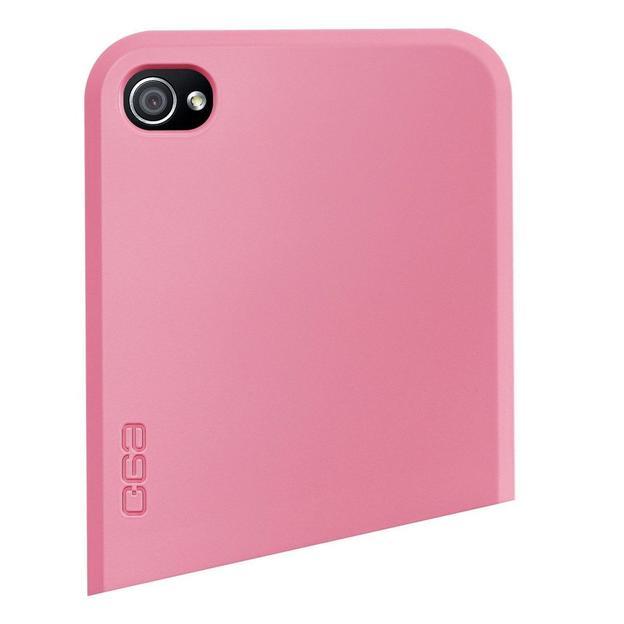 Coque iPhone 4 Ego Series haut rose