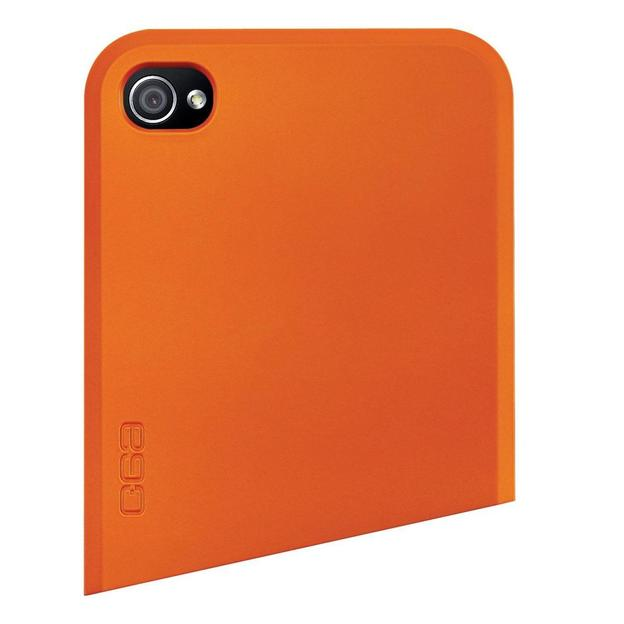 Coque iPhone 4 Ego Series haut orange