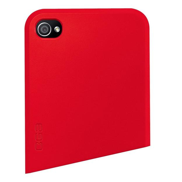 Ego Series iPhone 4 Schutzhülle Oben rot