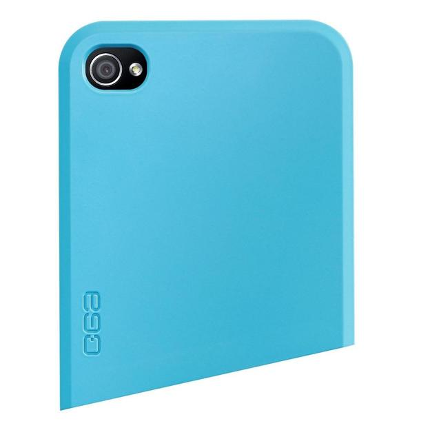 Coque iPhone 4 Ego Series haut  bleu