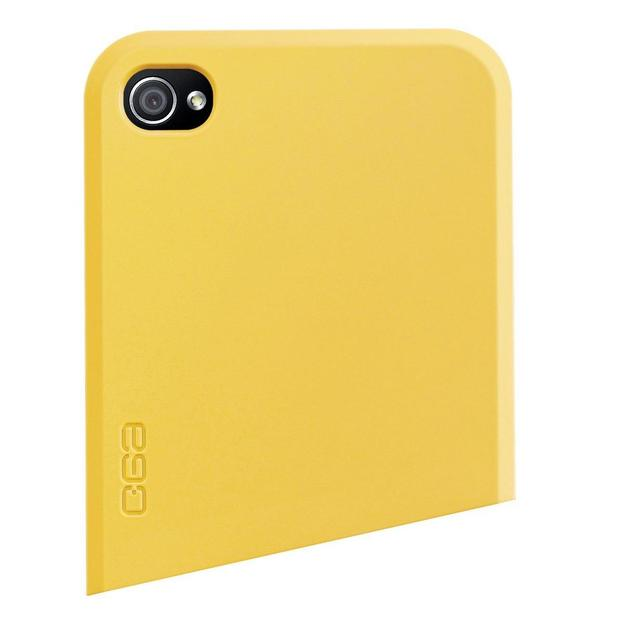 Coque iPhone 4 Ego Series haut jaune