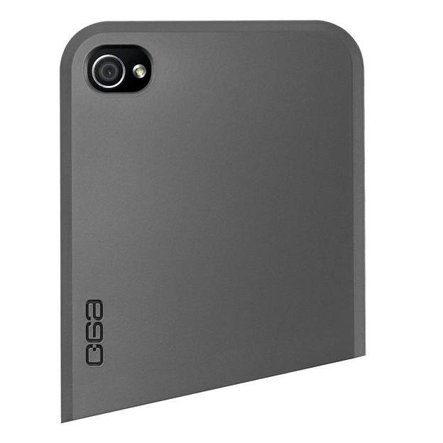 Coque iPhone 4 Ego Series haut gris