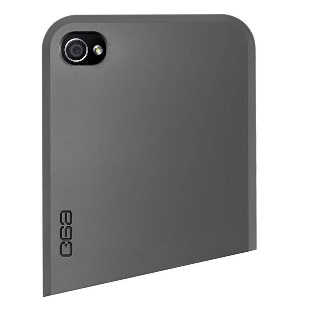 Ego Series iPhone 4 Schutzhülle Oben grau