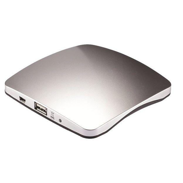 Chargeur solaire USB fenêtre argenté