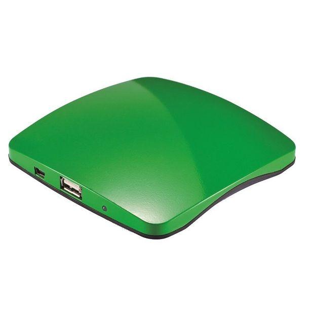Chargeur solaire USB fenêtre vert