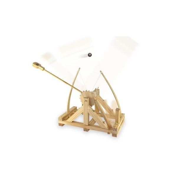 DaVinci Katapult Modell aus Holz - Selbstbaukit