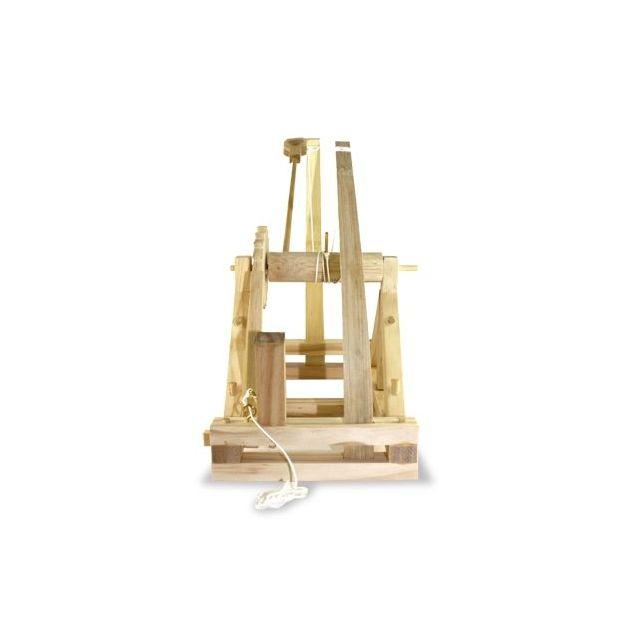 Catapulte Leonard de Vinci - modèle fonctionnel.