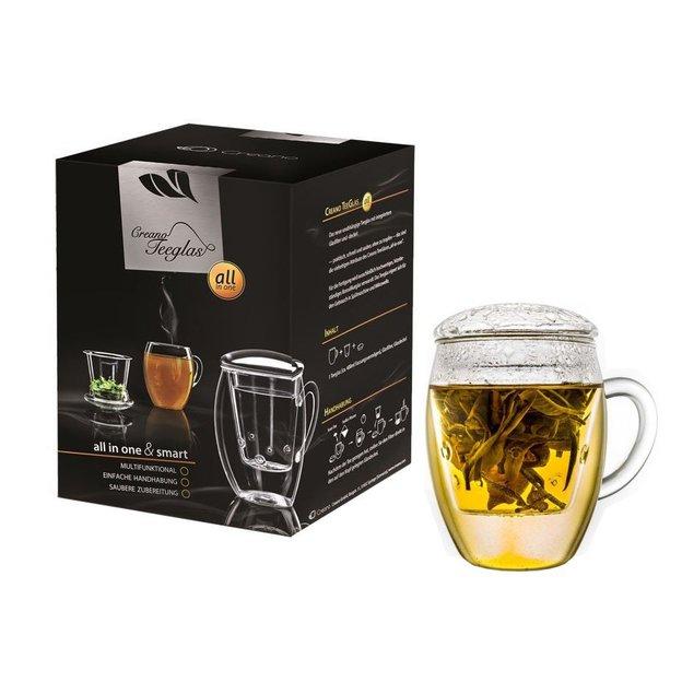 Tasse de thé Creano et passoire