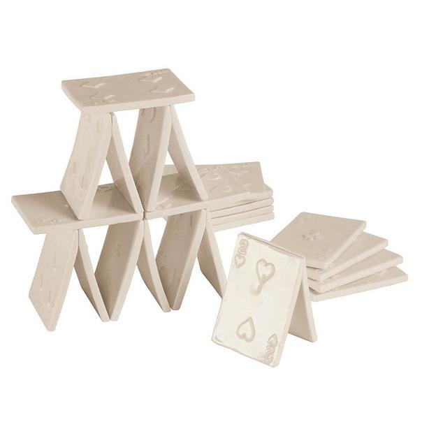 Memorabilia Kartenhaus 18er Set von Seletti