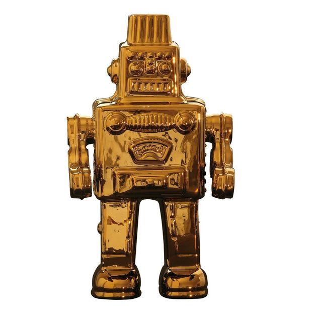 Memorabilia gold Roboter von Seletti