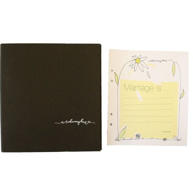 Carnet de Mariage Color My Love