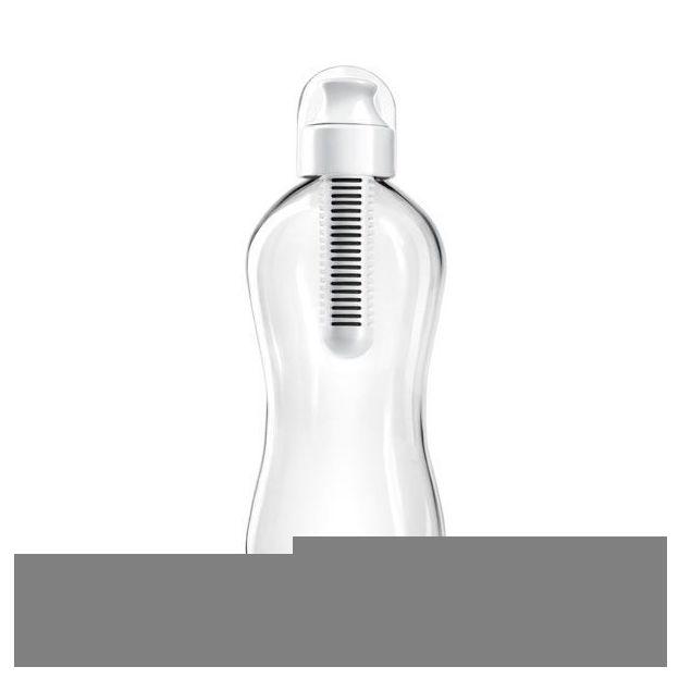 Water Bobble 550ml mit Filter weiss