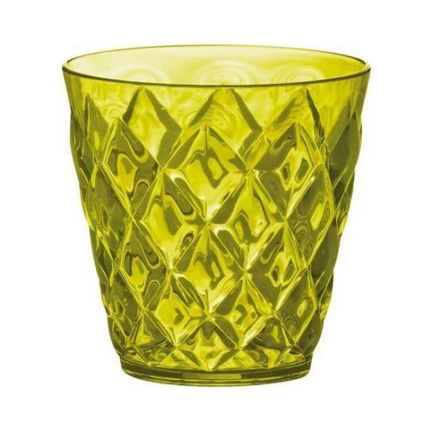 Becher 200ml Crystal S olivgrün von Koziol
