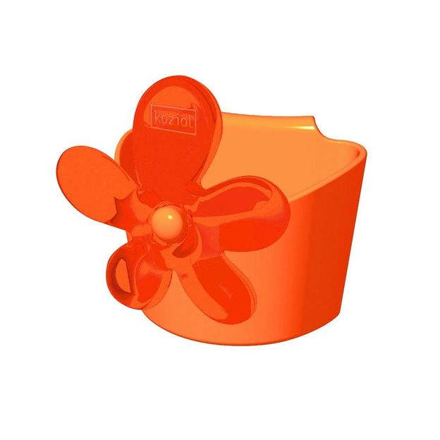 Mini Pochette à suspendre A-PRIL rouge/orange de Koziol