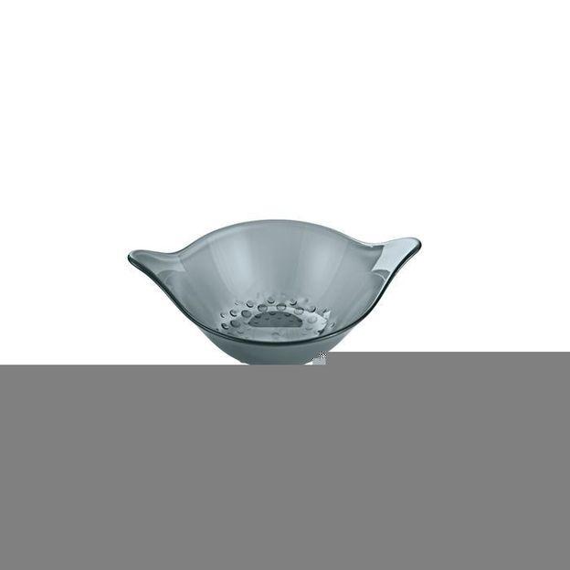 Coupelle 40 ml MINI-LEAF de Koziol gris transparent