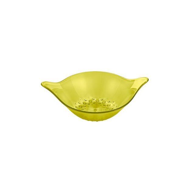 Coupelle 40 ml MINI-LEAF de Koziol vert olive transparent