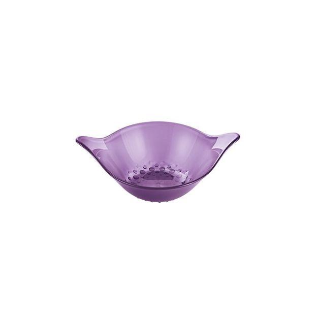 Coupelle 40 ml MINI-LEAF de Koziol prune transparent
