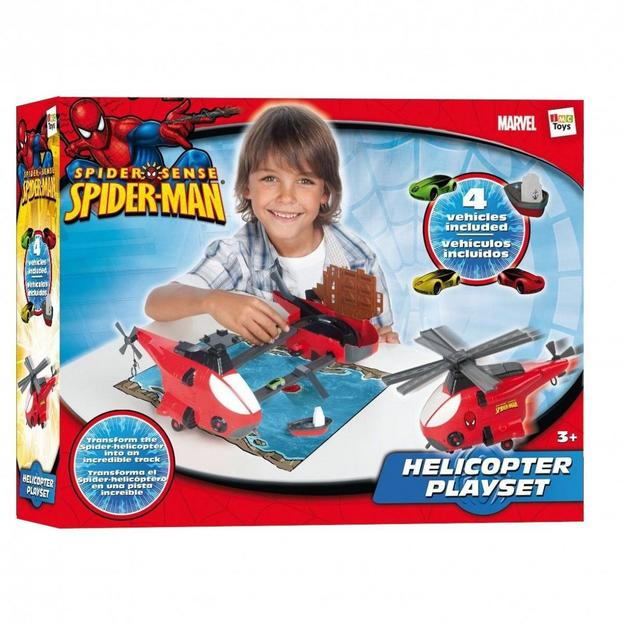Spider-Man Mini Spielset Helikopter