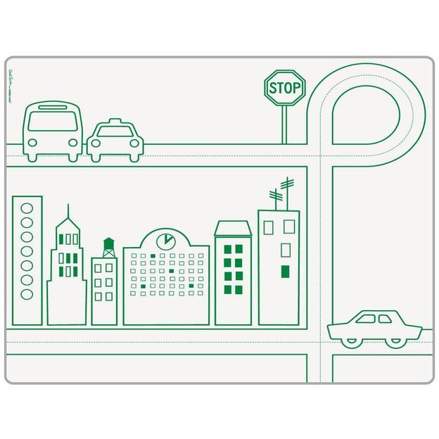 Tischset City Transportation mit 6 Stiften