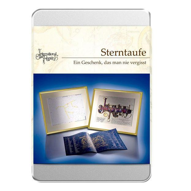 Sterntaufe Gutschein Box Deluxe