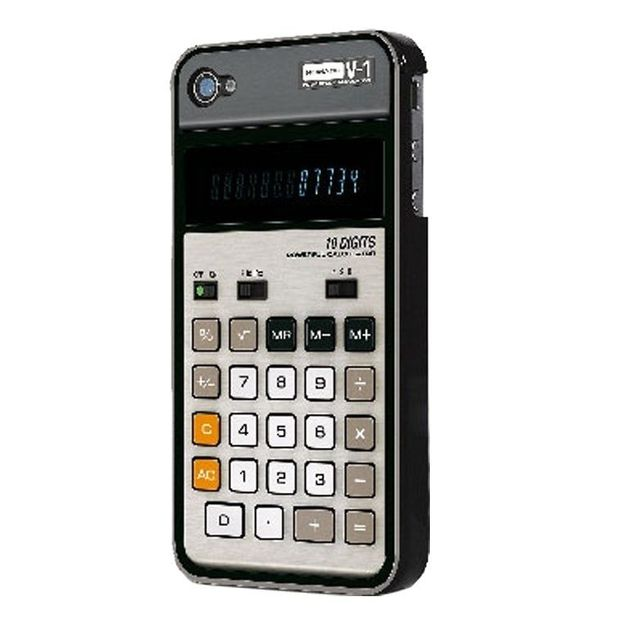 Coque iPhone 4 calculatrice