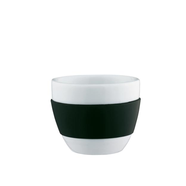 Espresso-Tasse Aroma schwarz von Koziol