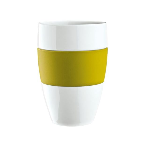 Gobelet AROMA vert moutarde opaque von Koziol