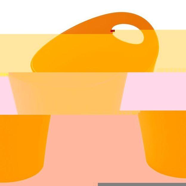 Gobelet à découpes POTTICHELLI L orange opaque von Koziol
