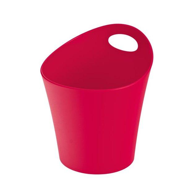 Gobelet à découpes POTTICHELLI L rouge framboise opaque von Koziol