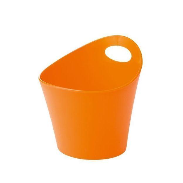Gobelet à découpes POTTICHELLI M orange opaque von Koziol