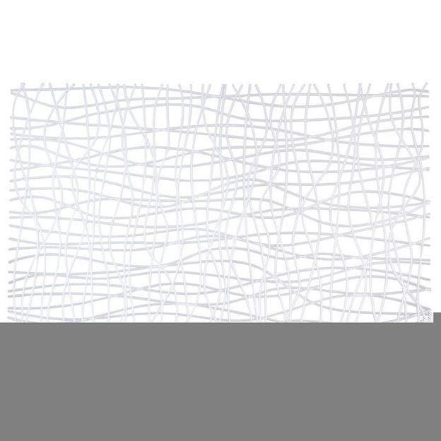 Set de table SILK blanc opaque de Koziol