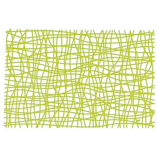 Tischset Silk olivgrün von Koziol