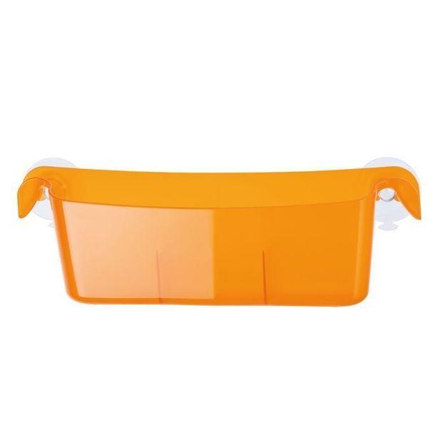 Bac de rangement MIDI-BOKS orange transp. von Koziol