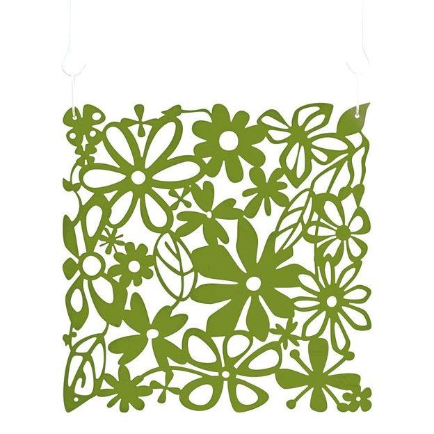 Cloison mobile Alice B1 vert olive de Koziol