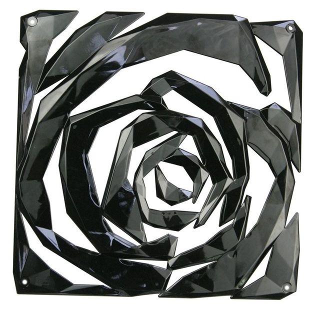 Elément décoratif ROMANCE B1 noir opaque von Koziol