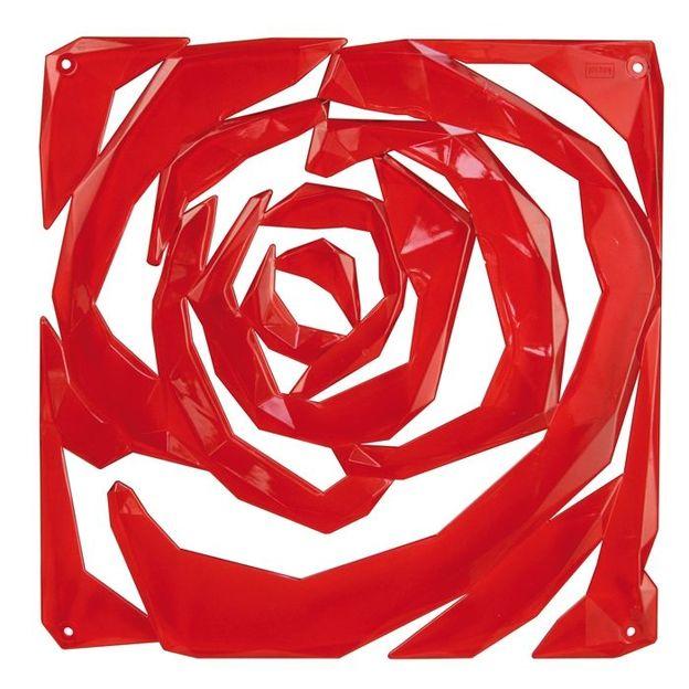 Dekoelement Romance B1 rot von Koziol