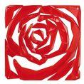Elément décoratif ROMANCE B1 rouge transp. von Koziol