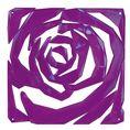 Elément décoratif ROMANCE B1 violet transp. von Koziol