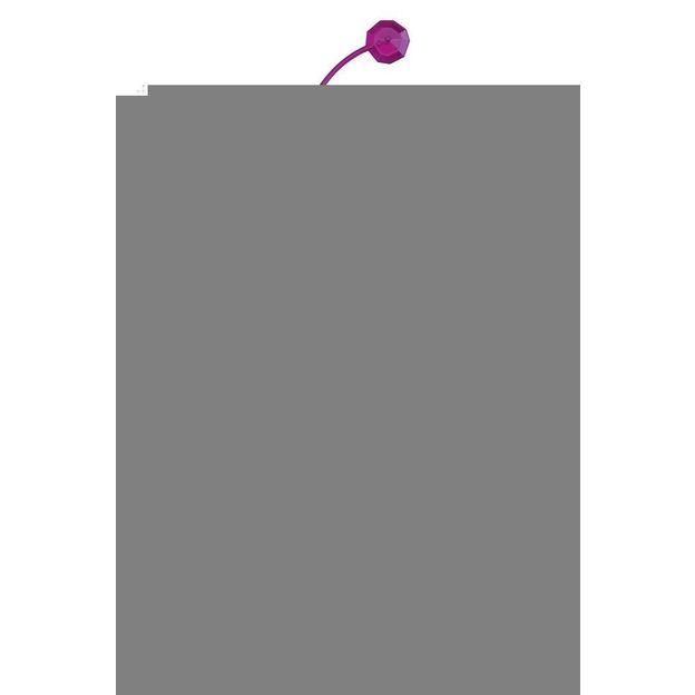 Elément décoratif ANTOINETTE B1 violet transp. von Koziol