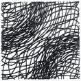 Dekoelement Silk B1 schwarz von Koziol