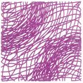 Dekoelement Silk B1 violett von Koziol