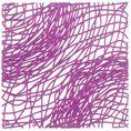 Elément décoratif SILK B1 violet transp. von Koziol