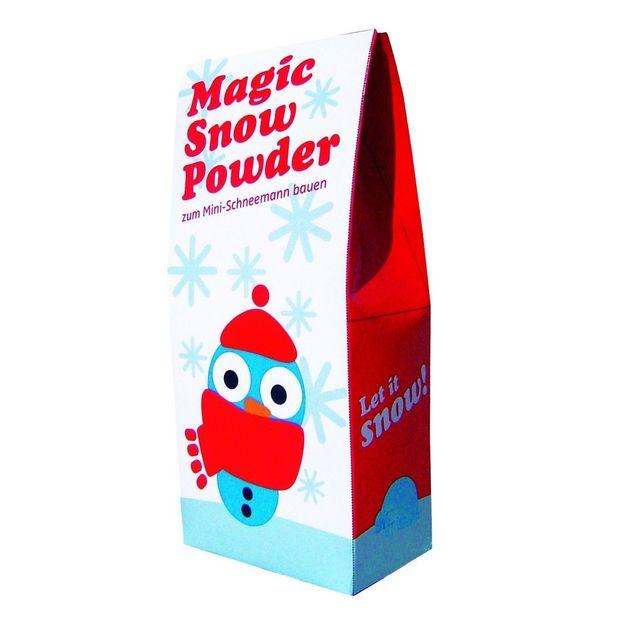 Magisches Schneepulver
