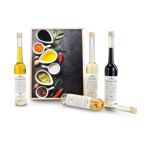 Set huiles vinaigres - Vinaigre blanc composition ...