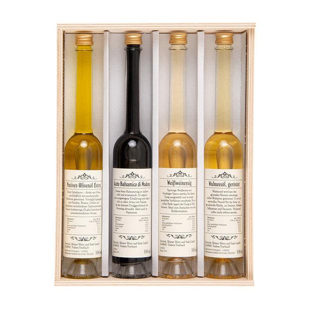 Öl und Essig Küchen Geschenkset
