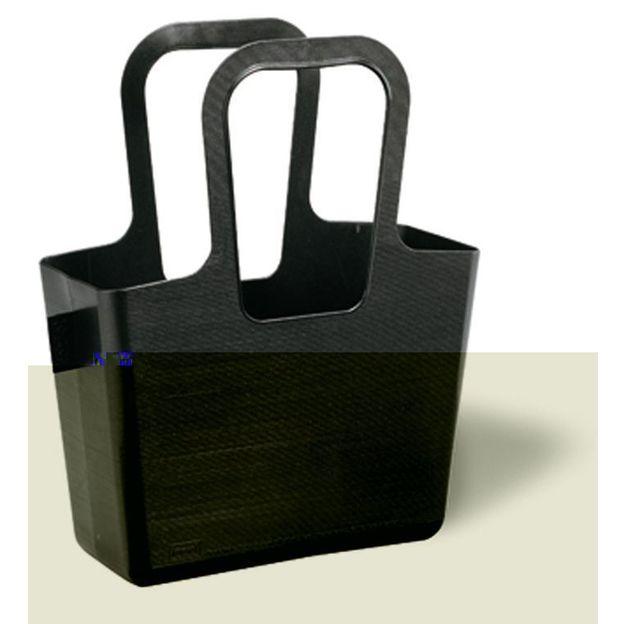 Cabas TASCHELINO noir opaque von Koziol