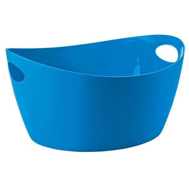 Bassine BOTTICHELLI L bleu des caraïibes opaque von Koziol