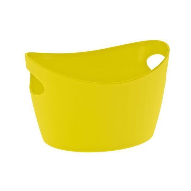 Gobelet à découpes BOTTICHELLI S vert moutarde opaque von Koziol