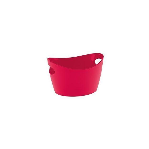 Gobelet à découpes BOTTICHELLI XXS rouge framboise opaque von Koziol